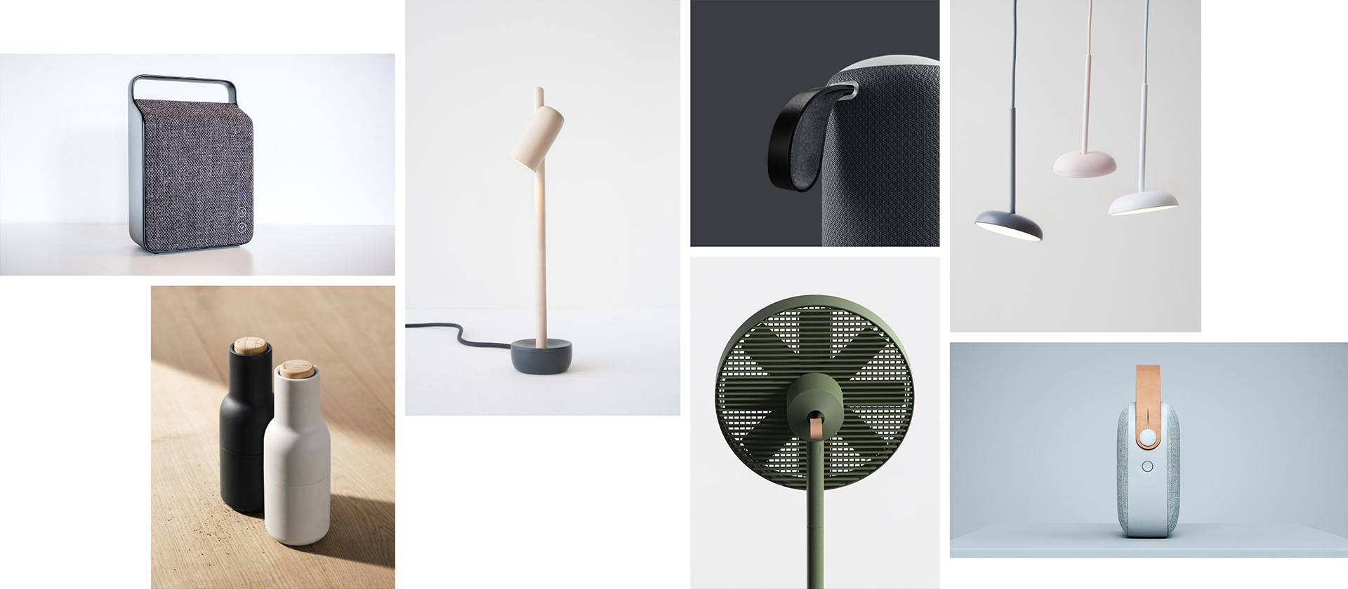 Innovative product design inspiration moodboard for Boneco Fan project