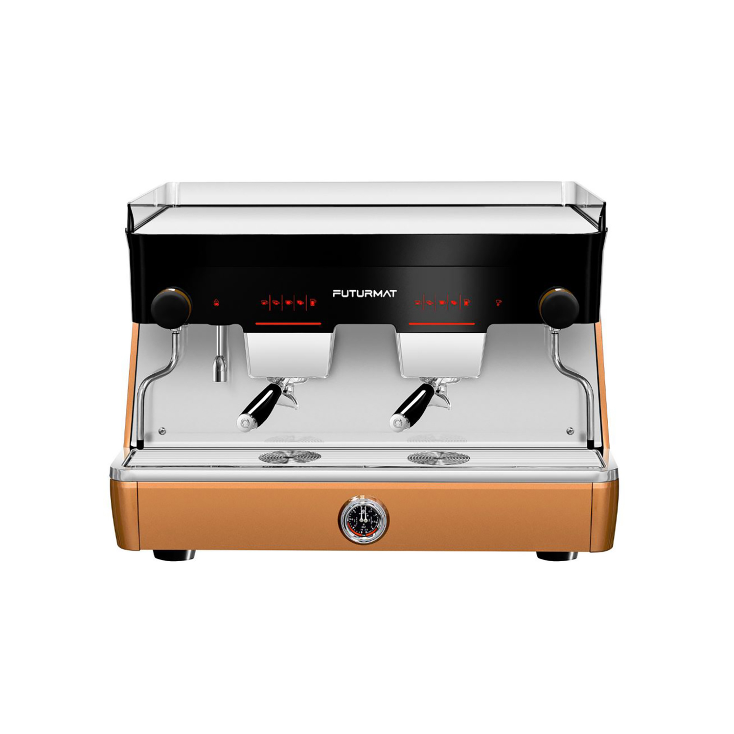 Industrial design and engineering for Quality Espresso coffee machine: Futurmat F3