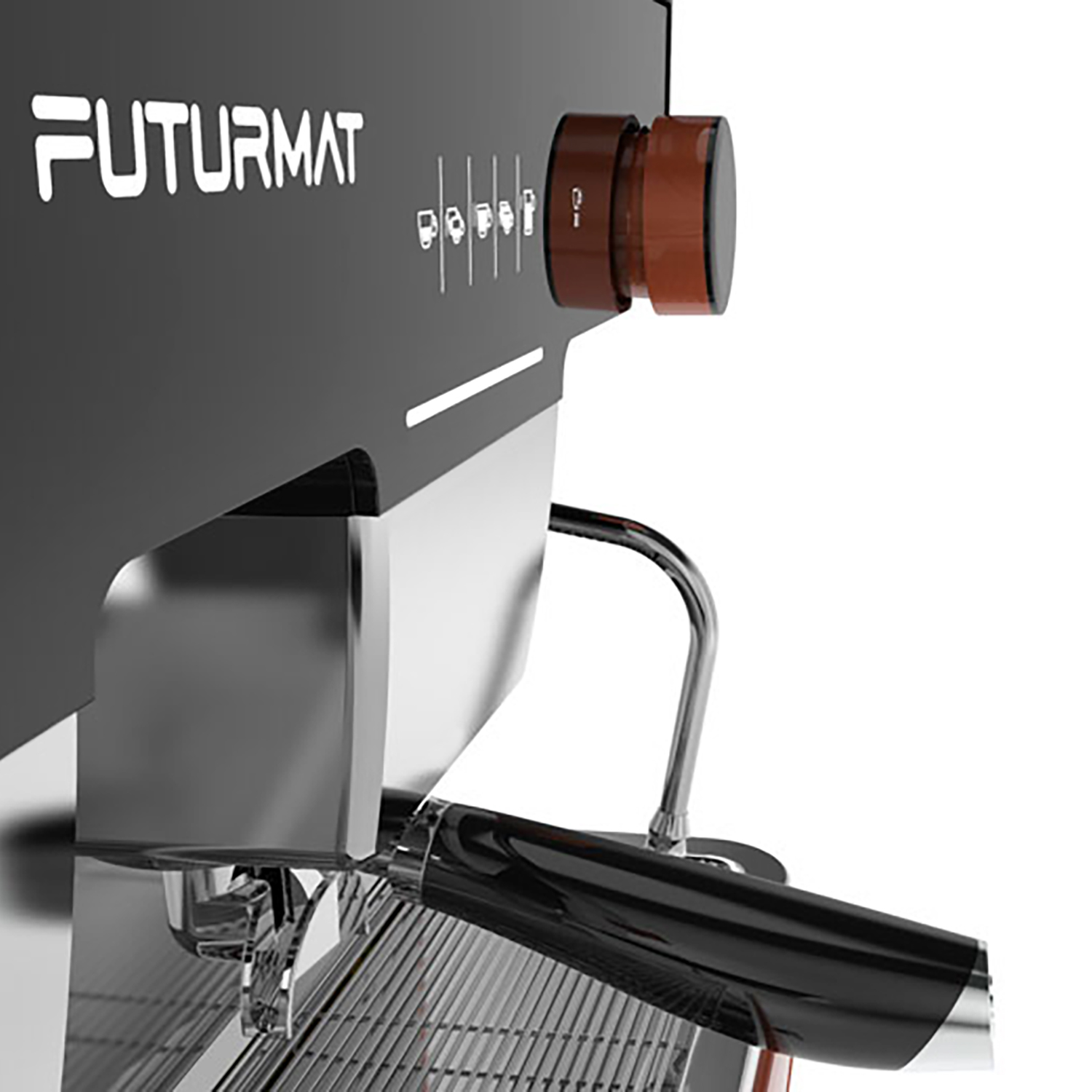 Coffe Machine design for Quality Espresso: Futurmat F3