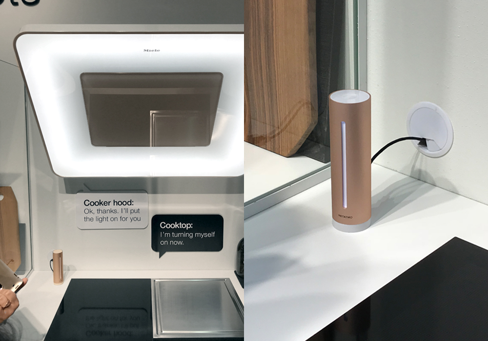 Salone del Mobile 2018: netatmo and miele for quality air control