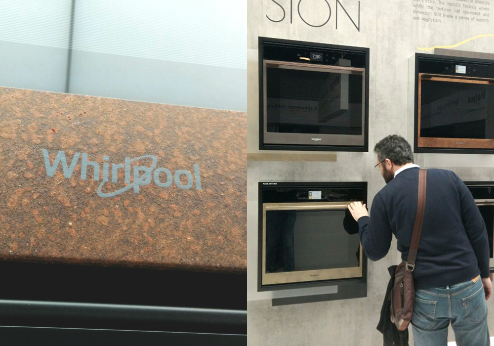 Salone del Mobile 2018: Industrial design with alternative materials by Whirlpool